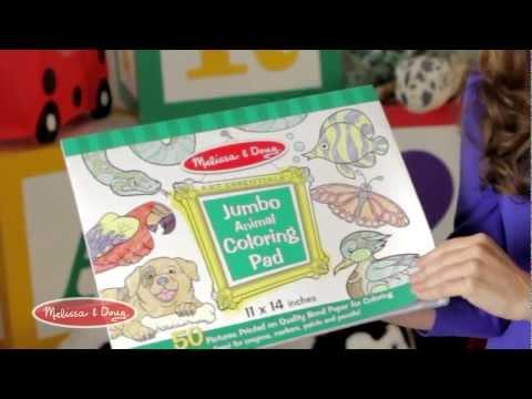 Jumbo Coloring Pad by Melissa and Doug