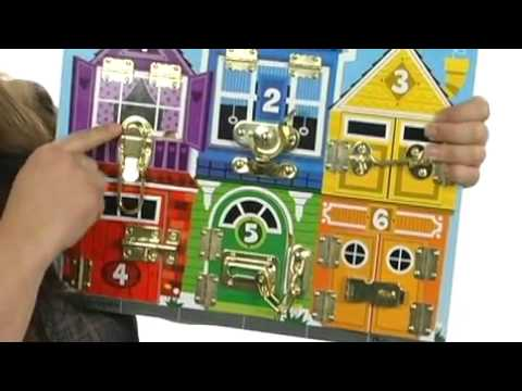 Melissa & Doug Latches Board 7590386