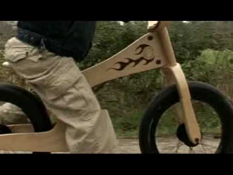 Early Rider Video - The Wooden Learner Bike with Attitude